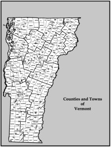 Vermont's Counties & Towns
